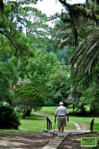 Path to Bird City at Jungle Gardens, Avery Island