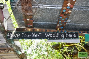 """""""Have your next wedding here"""""""