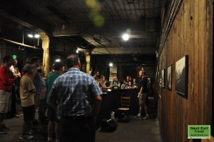 Bill Speidel's Underground Tour - Chris leading the tour