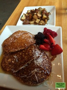 Gluten-Free Vegan Pancakes at Portage Cafe
