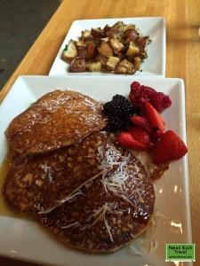 Gluten-Free Vegan Pancakes at Portage Cafe