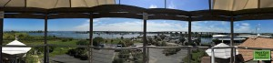 Panorama view from the top of Chesapeake Exploration Center
