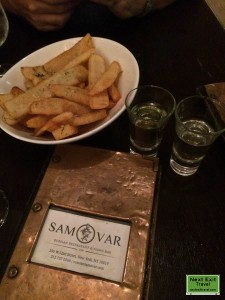 Russian Samovar, potatoes in all forms