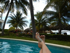 Lazy river. An excellent choice after coffee with coffee liqueur.