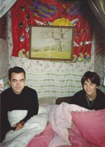 The Room Bed, Hove squat (January 2000)