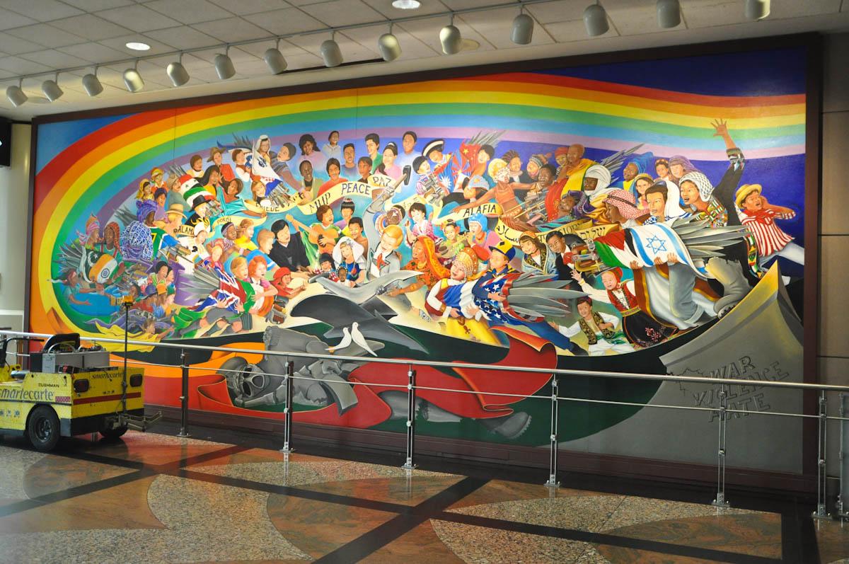 Children Of The World Dream Peace By Leo Tanguma