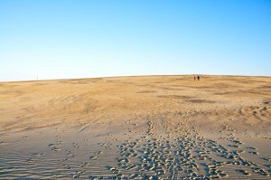 Hiking the Dunes at Jockey's Ridge State Park
