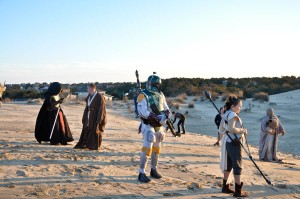501st Legion Carolina Garrison OBX StormTroopers at Jockey's Ridge