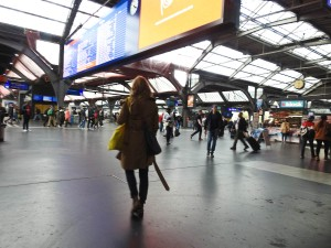 Zurich train station