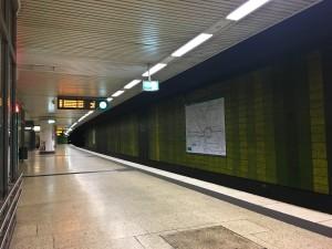 U-Bahn at 4:50am