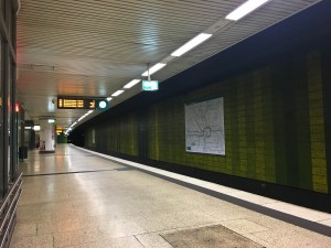 U-Bahn at 4:50am